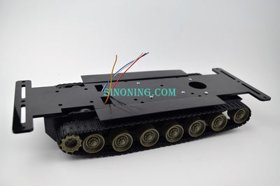 Smart Robot Tank Chassis kits diy robot chassis crawler tank with Acrylic plate for Arduino SN200t