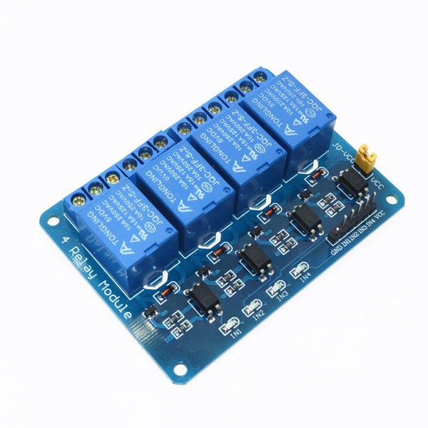 5V 4-Channel Relay Module Shield for Arduino ARM PIC AVR DSP Electronic