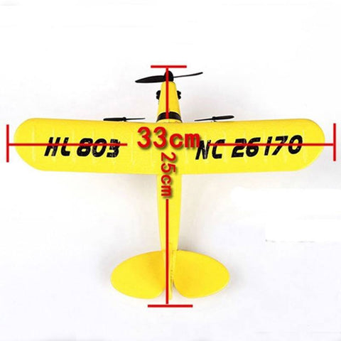 RC Plane HL-803 High Quality EPP Foam 2.4G Remote Control Airplane 2CH RC Plane 150m Control Distance Glider