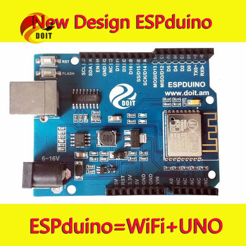 ESPDuino  Development Board= UNO R3 for arduino with WiFi  from ESP8266 ESP-13