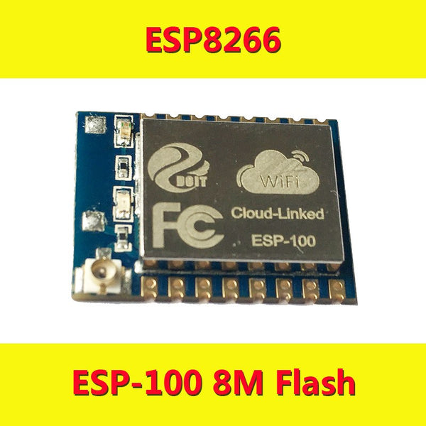 the newest ESP8266 Serial WiFi Module ESP-100 Compatible with better ESP-07 with External Antenna ESP 100 Lua iot