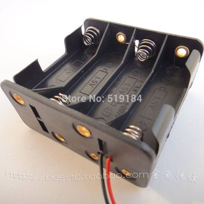 12V batteries battery box for 8 pcs AA 1.5v battery box diy