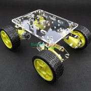 Damping Balance smart robot car chassis  tracking  shock absorbers