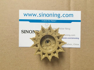 1pcs tank driven wheel for SN100 SN400 damping tank chassis