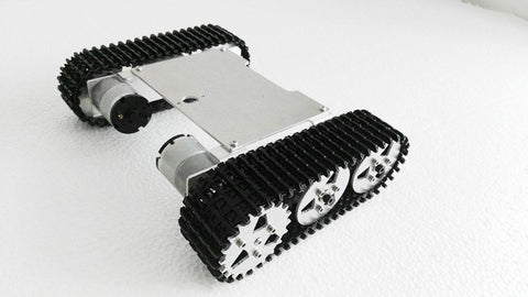 ROT-M1 metal robot tank chassis kit diy toy smart robot 2WD