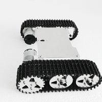 ROT-M1 metal robot tank chassis kit diy toy smart robot 2WD SN5900