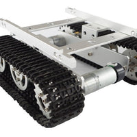 Aluminum Alloy Metal Tank Robot Track Caterpillar Chassis for Arduino