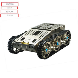 Metal robot car chassis tank chassis platform for arduino