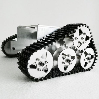Aluminum Alloy Robot Tank WALL-E Style Chassis For Arduino SUV SN4500