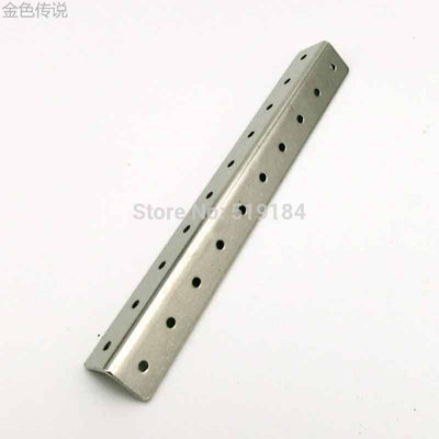 20 holes of small L shaped angle iron  creel frame metal