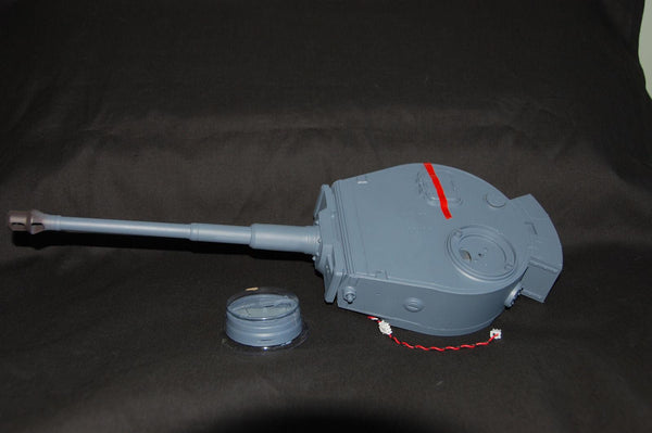 Heng Long 3818 1/16 RC Tank  Germany Tiger 1 Turret BB Shooting Unit Barrel device