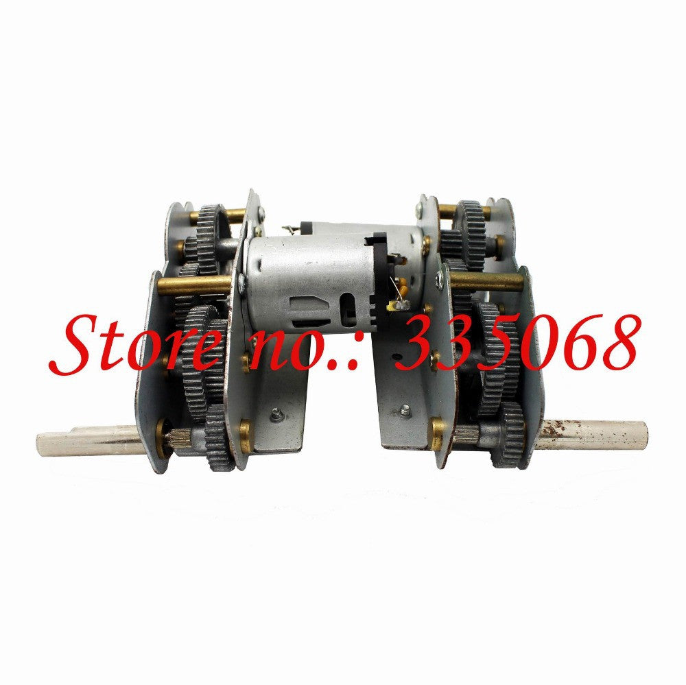 HENG LONG 3888/3888-1 RC tank German King Tiger 1/16 parts No.3888-070 gearbox with alloy gear middle+low motor