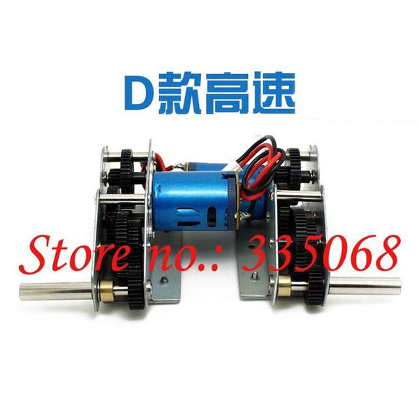 HENGLONG 3938-1 RC tank Russian T90 / T-90 1/16 spare parts No.Driving gear box with low / high speed motors-bearing version D