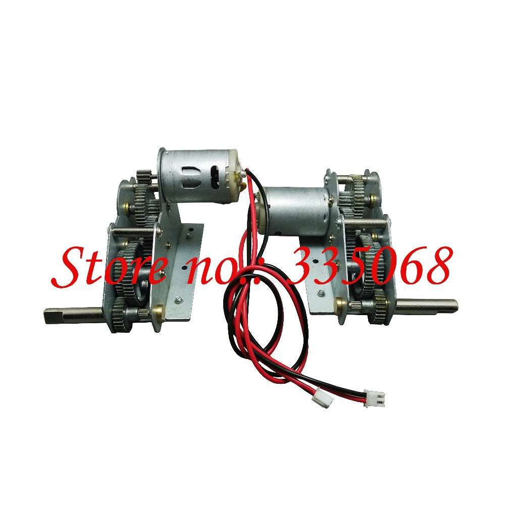 HENG LONG 3839/3839-1 RC tank U.S.M41A3 1/16 spare parts No.39-081 Driving gearbox with alloy gear high+low motor position
