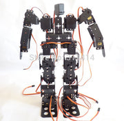 1set 17DOF Biped Robot Educational Robot Kit 17 Degrees Of Freedom Humanoid / Humanoids Walking / feet Servo Bracket Kit