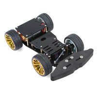 Elecrow 4WD RC Smart Car Chassis with S3003 Metal Servo Bearing Kit for Arduino