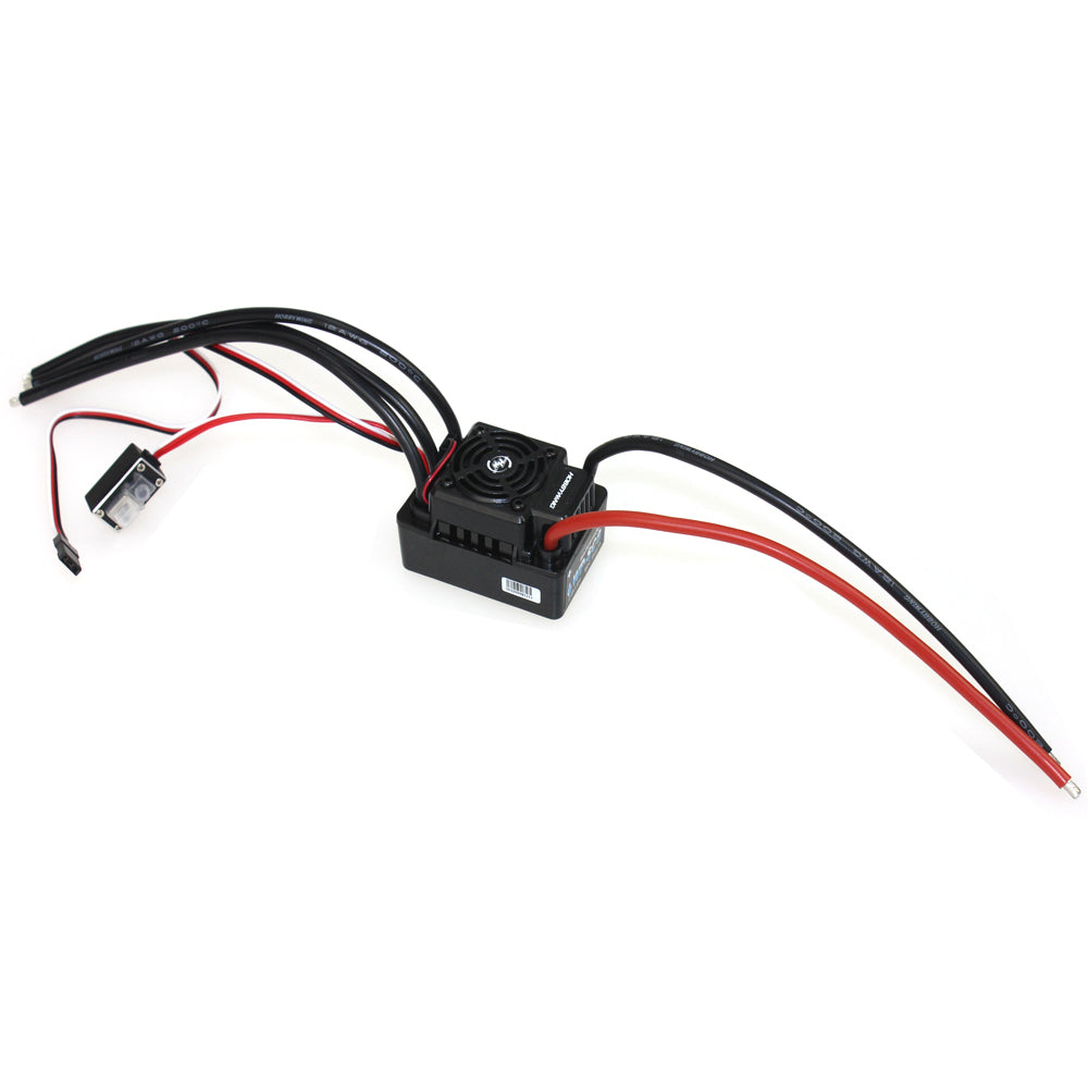 Hobbywing Ezrun Wp Sc8 120a Waterproof Speed Controller Brushless Esc Wiring For Rc Car Crawler Truck F17814