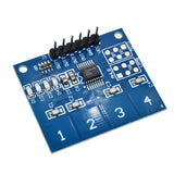 NEW 4Channel Digital Touch Sensor Capacitive Switch Module Button For Arduino TTP224
