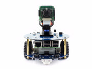 AlphaBot2 robot kit with Original Element 14 Raspberry Pi 3 Model B /RPi Camera (B)/IR remote controller, auto obstacle avoiding