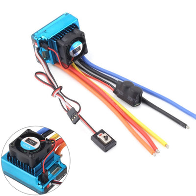 New 120A Sensored Brushless ESC Speed Controller for 1/8 1/10 1/12 RC Car Crawler Wholesale