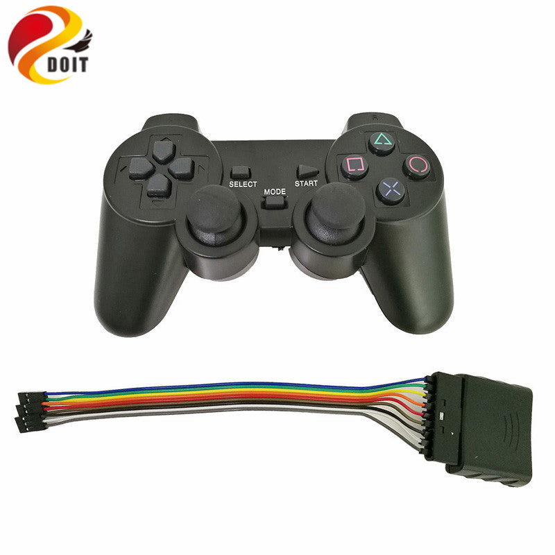2.4G Wireless game gamepad joystick for PS2 controller with wireless receiver playstation 2 console dualshock gaming joypad