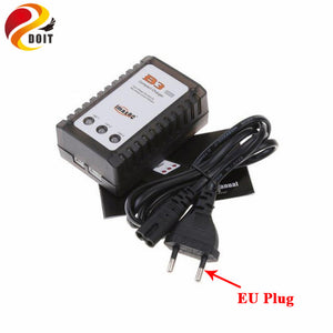 B3 Charger for Model Aircraft lithium Battery 7.4 V to 11 V, 2 s, 3 s Simple B3 Balance Charger The Power Adapter RC Toy