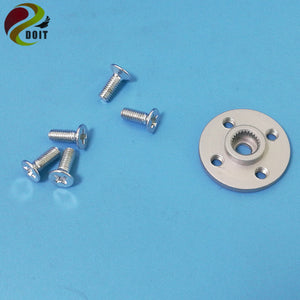 Metal Servo Hub horn,Servo arm, Metal steering wheel Small disc stents for MG995 MG996R etc. standard suitable for standard size