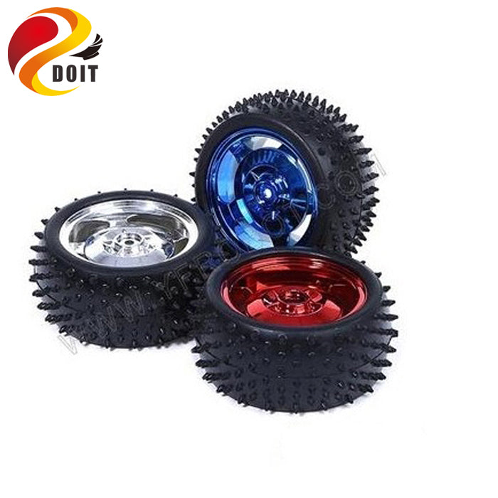 4pcs 2wd/4wd Car Wheel with Diameter 85mm width 31mm Tire Tyre Wheel Robot DIY RC Toy Remote Control Robotic Kit