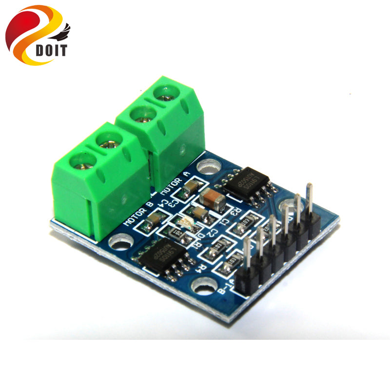 L9110S L9110 Two Motor Driven Module L9110S DC Stepper Motor Driver Board H Bridge L9110 diy rc toy smart car
