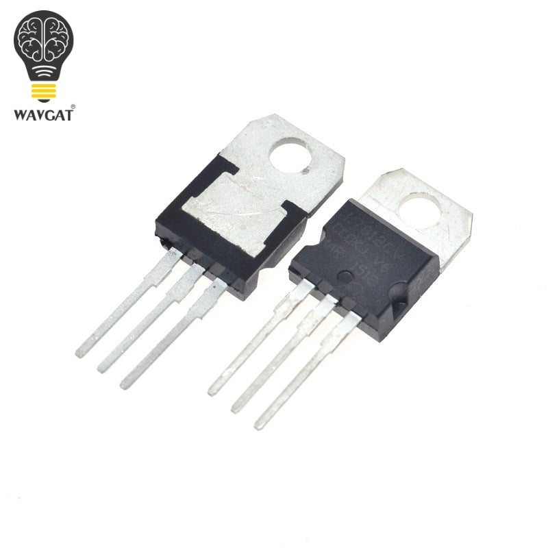 Free shipping 10pcs 7812 L7812CV L7812 TO-220 12V voltage regulator