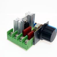 Free Shipping High Quality 2000W AC 220V SCR Electronic Voltage Regulator Module Speed Control Controller Worldwide Top Sale