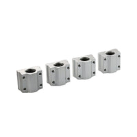 10Pcs SC8UU SCS8UU 8mm Linear Ball Bearing Linear Motion Bearing Slide For 3D Printer CNC Part