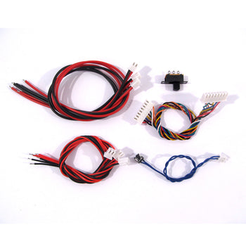 1/16 1:16 Heng Long spare tank parts, 5.3 version board cable set, wires, connector set of Heng Long Multi-function unit