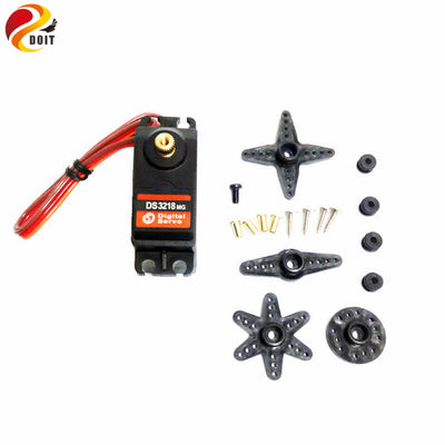 Wholesale DS3218 Metal Gear Digital Servo High Torque 20kg for Airplane or Robot DIY Remote Car Toy Robot Arm Toys Original DOIT