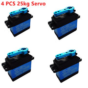 NEW  DS3325MG 4 PCS update RC servo 25KG full metal gear digital servo baja servo Waterproof version for  cars RC toys