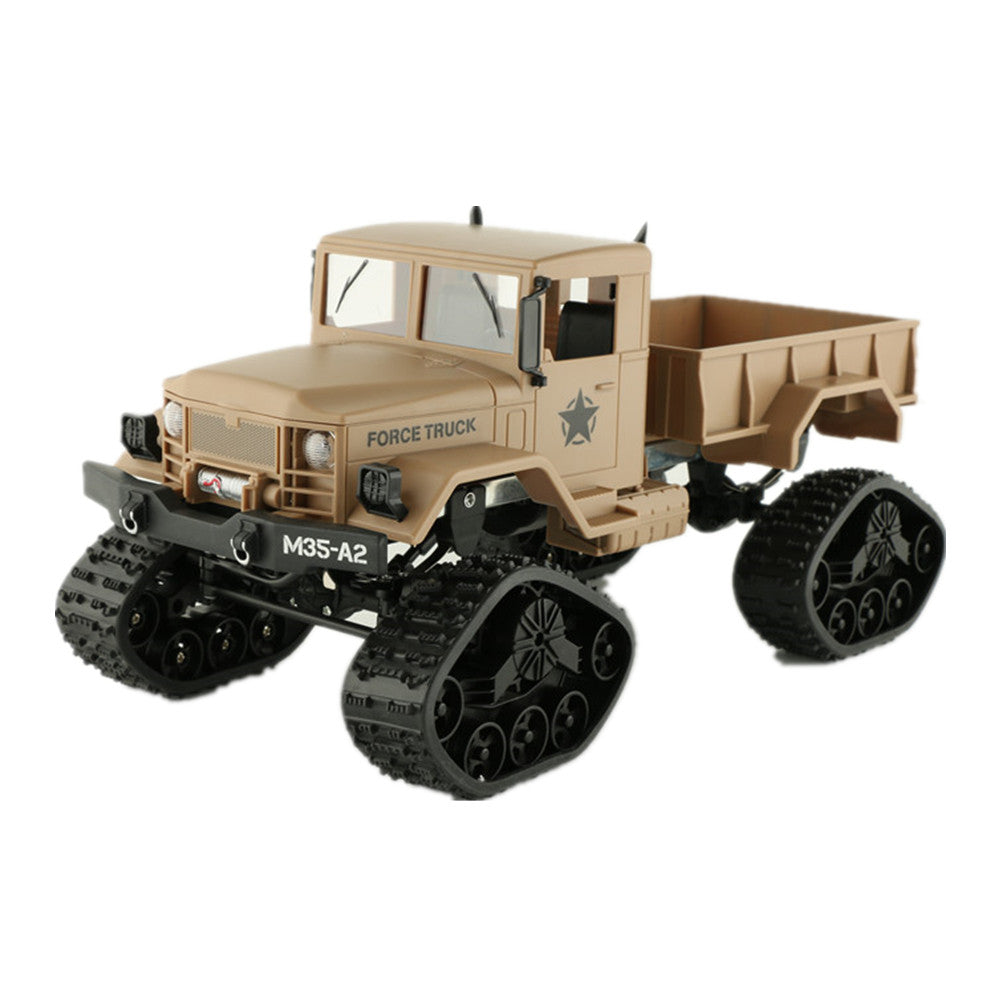 Fayee FY001B 1/16 2.4G 4WD 12km/h Rc Car Brushed Off-road Truck Snow Tires With Front Light RTR Toy Yellow Amy Green Gifts Boys