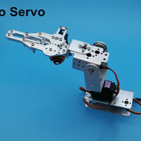 1set DIY 3-Axis Control Palletizing Robot Arm Model With Servos And Servo Arm Plate For Arduino UNO MEGA2560 Smart Robot Car