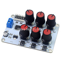 1piece 6CH Rotary Knob Servo Driver Controller Board w/Overcurrent Protection