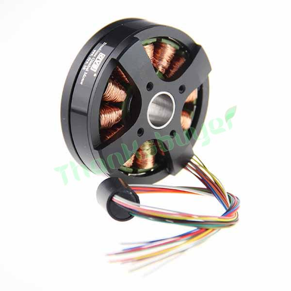 2018  BGM5208-200-12 with Slipring DYS Brushless Gimbal Motor