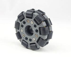 100mm Double Plastic omni Wheel basic 14049
