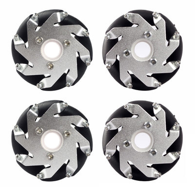 60mm Aluminum LEGO Compatible Mecanum wheel set(2Left,2Right) Basic 14159