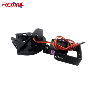RCmall 2DOF Mechanical Robotic Arm for Arduino ESP8266 NODEMCU DIY Screwdriver Mechanical claws or with MG996R Servo FZ2992/3