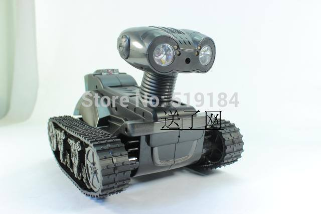 Robot WALL E rc tank WIFI HD video Camera wifi Spy Tank for  iOS,Android,iphone,Photo,Monitor Eavesdrop,remote control tank