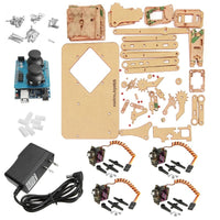 Best Deal Mearm DIY 4DOF For Arduino Robot Arm 4 Axis Rotating Kit With Joystick Button Controller 4pcs Servo