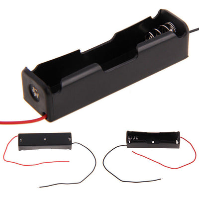 Plastic Battery Holder Storage Box Case for 1x 18650 Rechargeable Battery