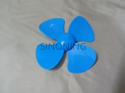 1000PCS 56mm/80mm diameter plastic blade / four leaf pulp / fan leaves small production DIY Blue