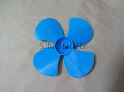 56mm/80mm diameter plastic blade / four leaf pulp / fan leaves small production DIY Blue