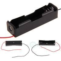 5 pcs One 18650 battery box 3.7v power box Lithium battery box with line