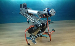 6 Degrees Of Freedom Manipulator Robot Manipulator Six-Axis Robot Industrial Robot Model