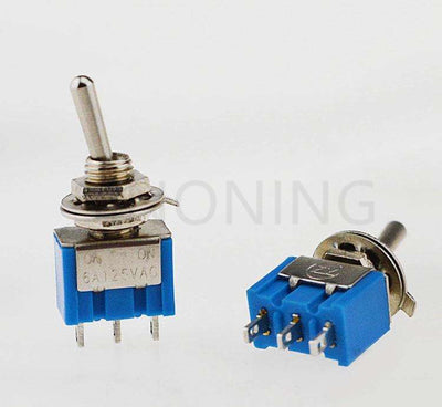 Toggle switch MTS-102 (single) switch switch 6A 125V / 3A 250V